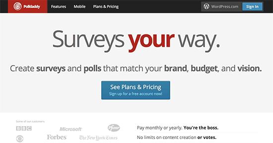 推荐5个WordPress最佳在线投票插件 Plugins 第5张
